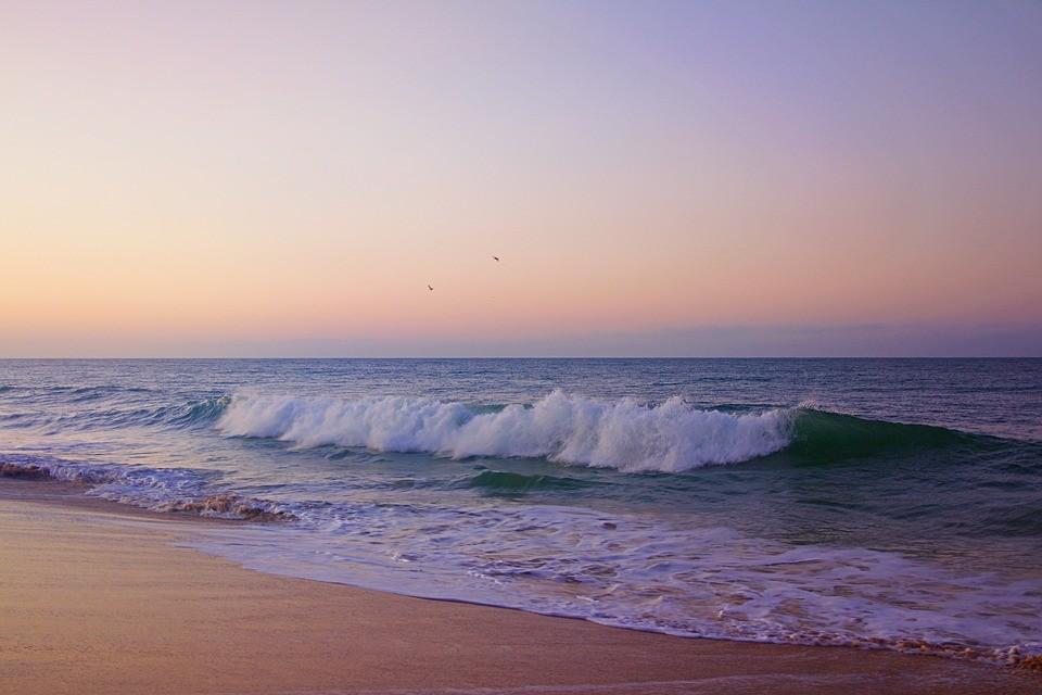 Paysage d'Algarve - plage